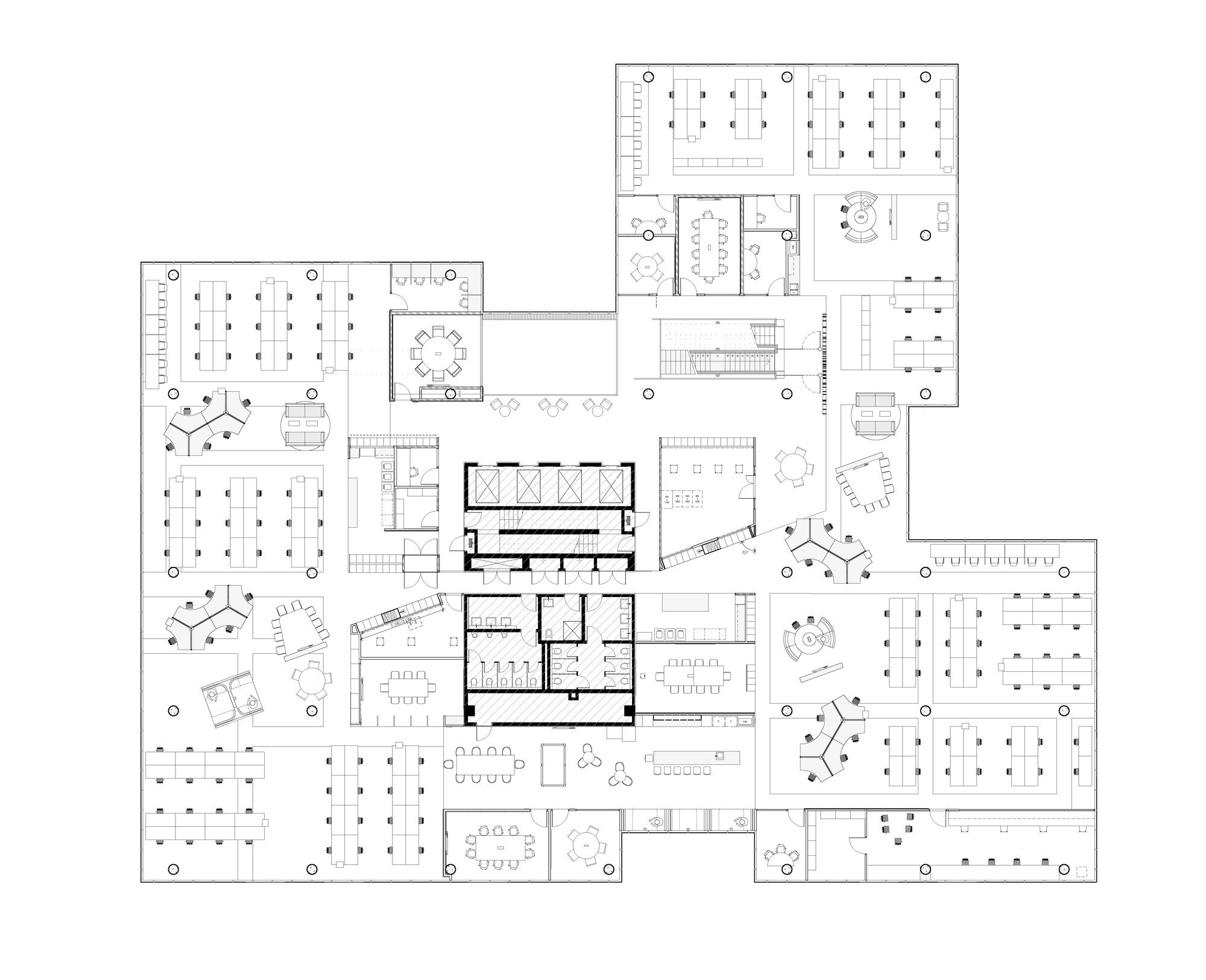 office plan interiors. Gallery Of Fujitsu HQ / Woods Bagot - 15 Office Plan Interiors