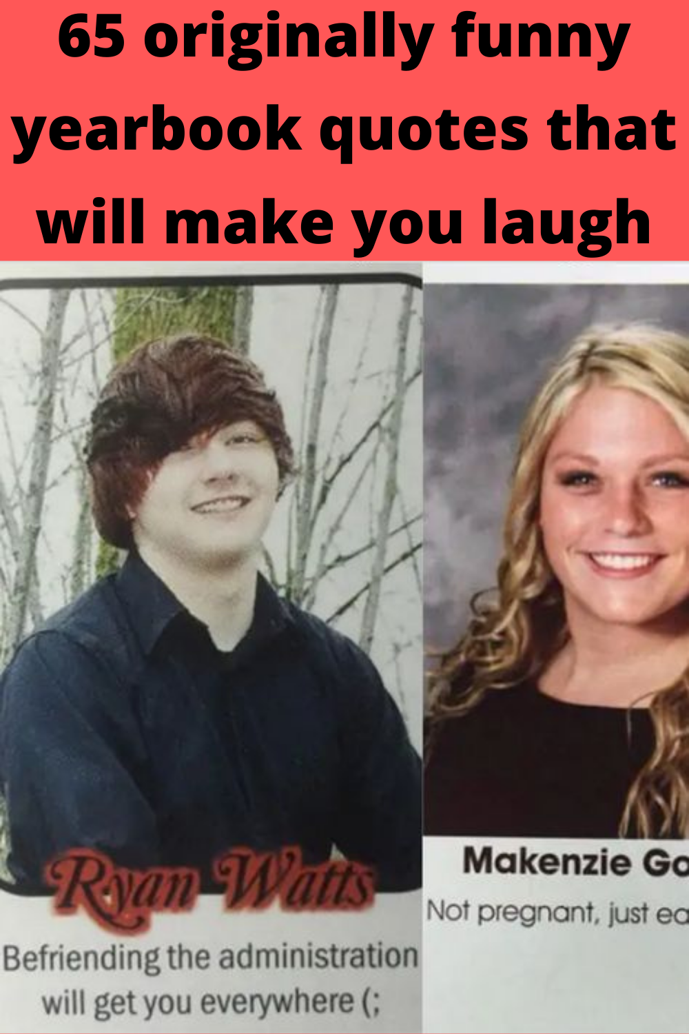 65 Originally Funny Yearbook Quotes That Will Make You Laugh In 2020 Funny Yearbook Quotes Funny Yearbook Beautiful Braided Hair