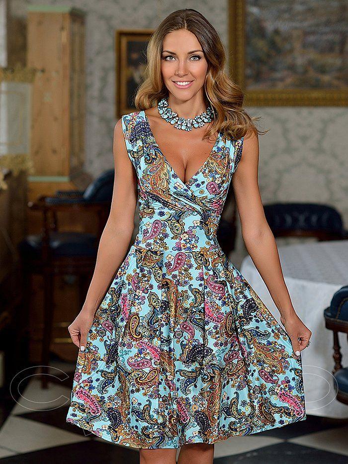 Летние платья – модные тенденции 2020 года   Платья ...