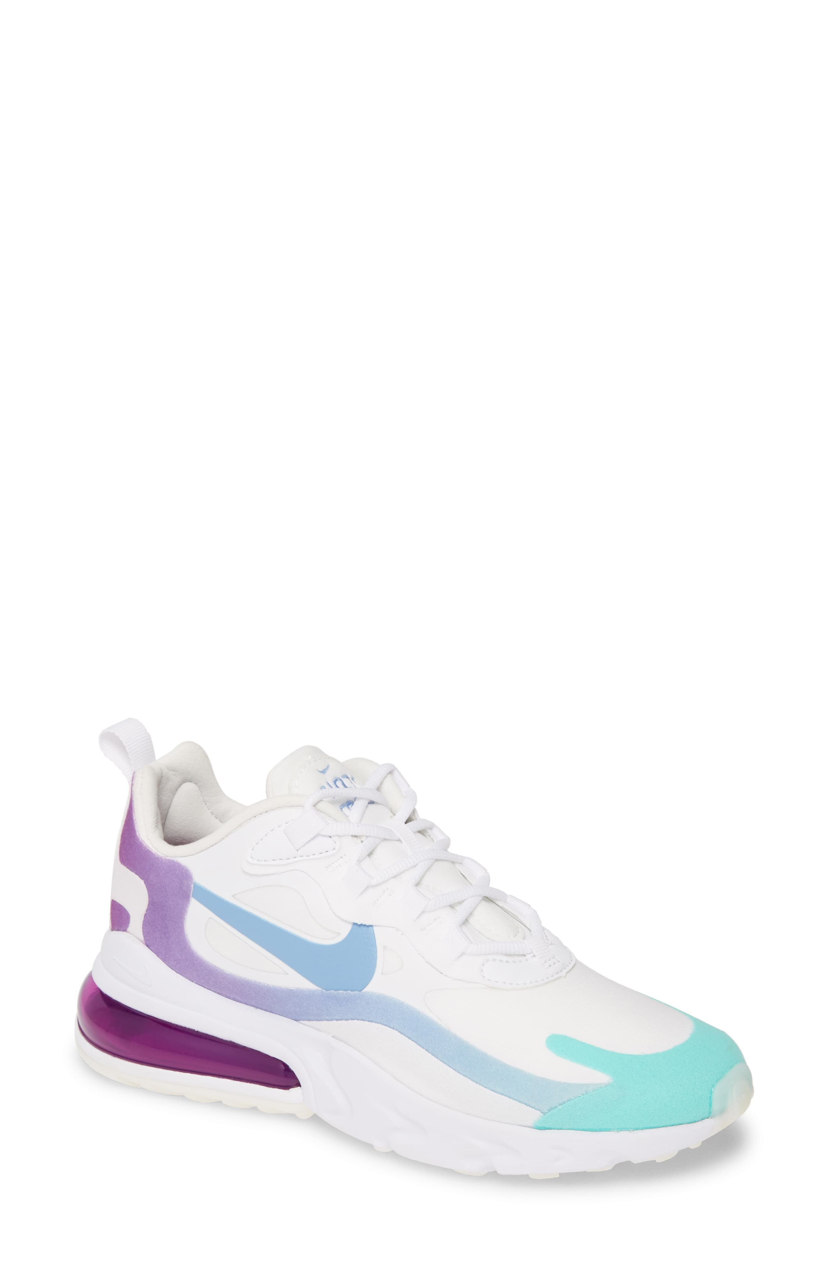 Nike Air Max 270 React Sneaker Women Em 2020 Caudas De Sereia