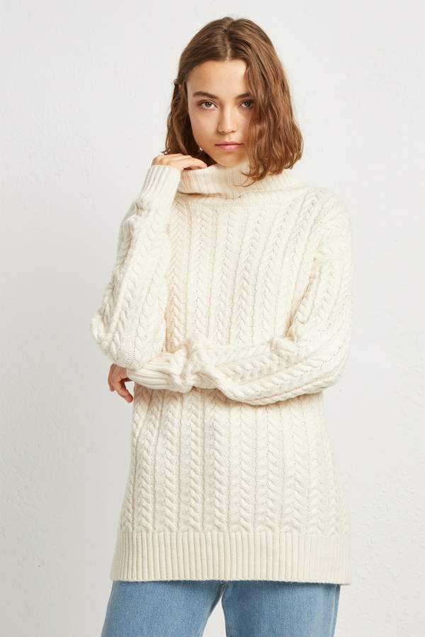 Rita Cable Knit Jumper   Products   Knitting, Knitting patterns ...