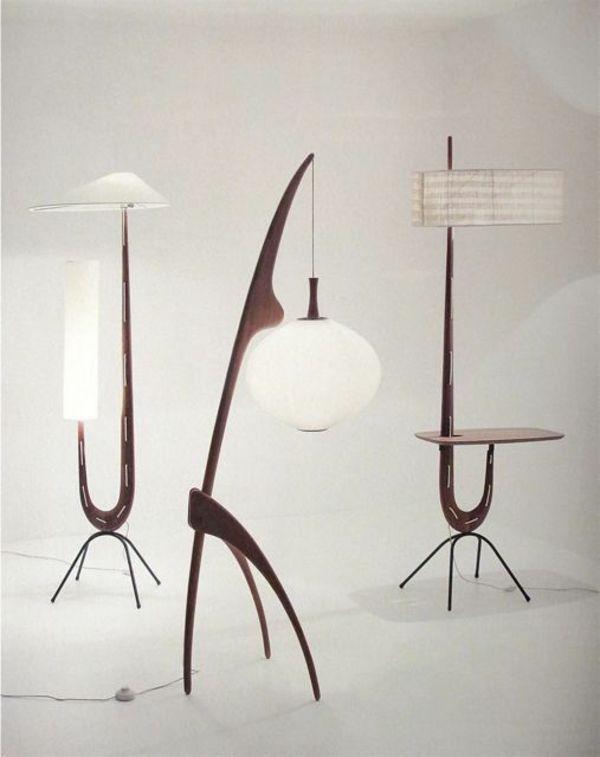 designer stehlampen aus der leuchtenwelt es werde licht pinterest. Black Bedroom Furniture Sets. Home Design Ideas