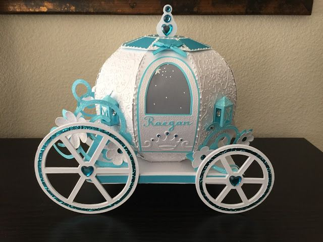 Pumpkin Carriage from svgcuts.com