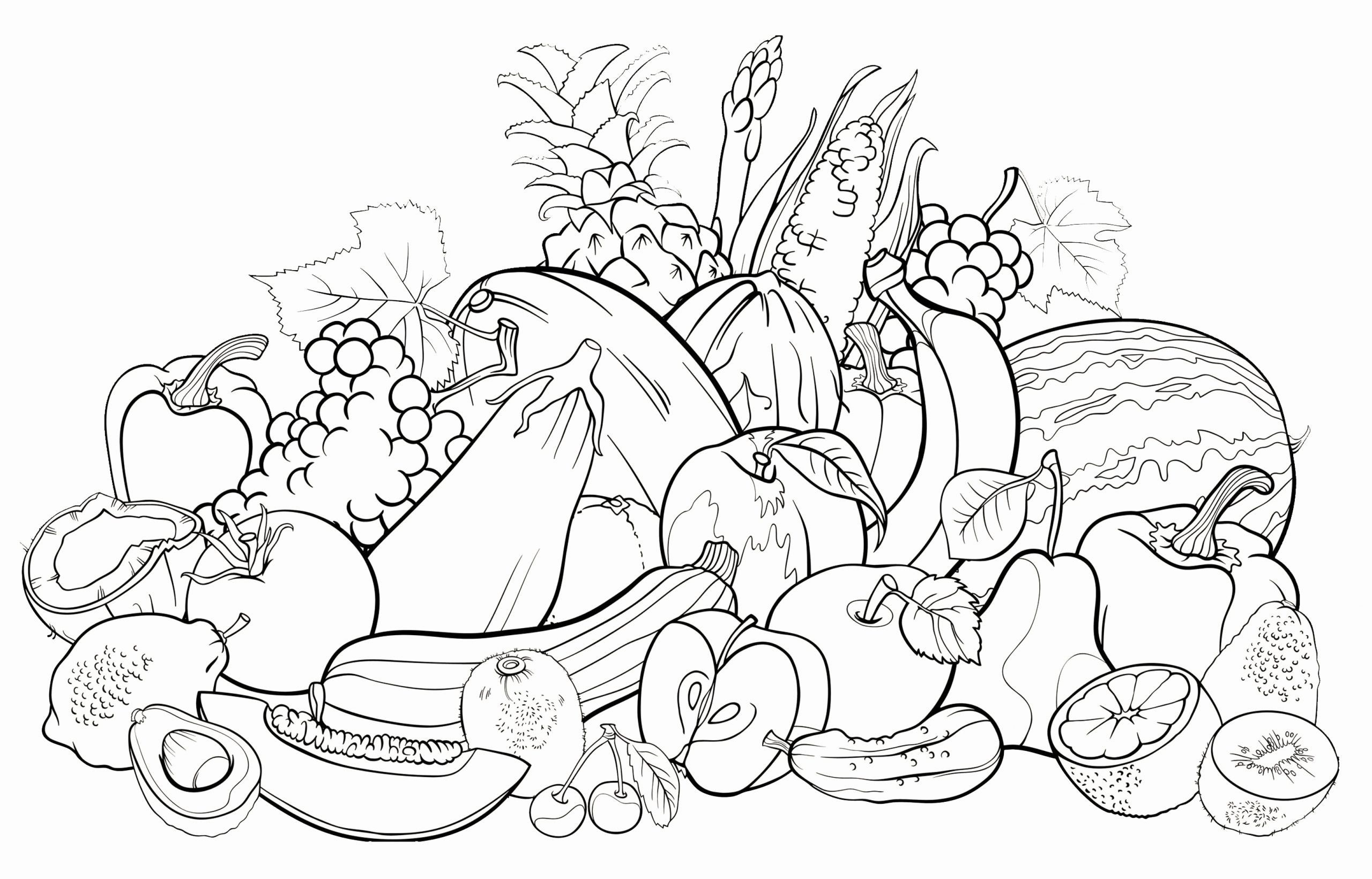 Coloring Pages Fruits And Vegetables Elegant All Fruits Coloring Pages In 2020 Fruit Coloring Pages Vegetable Coloring Pages Coloring Pages