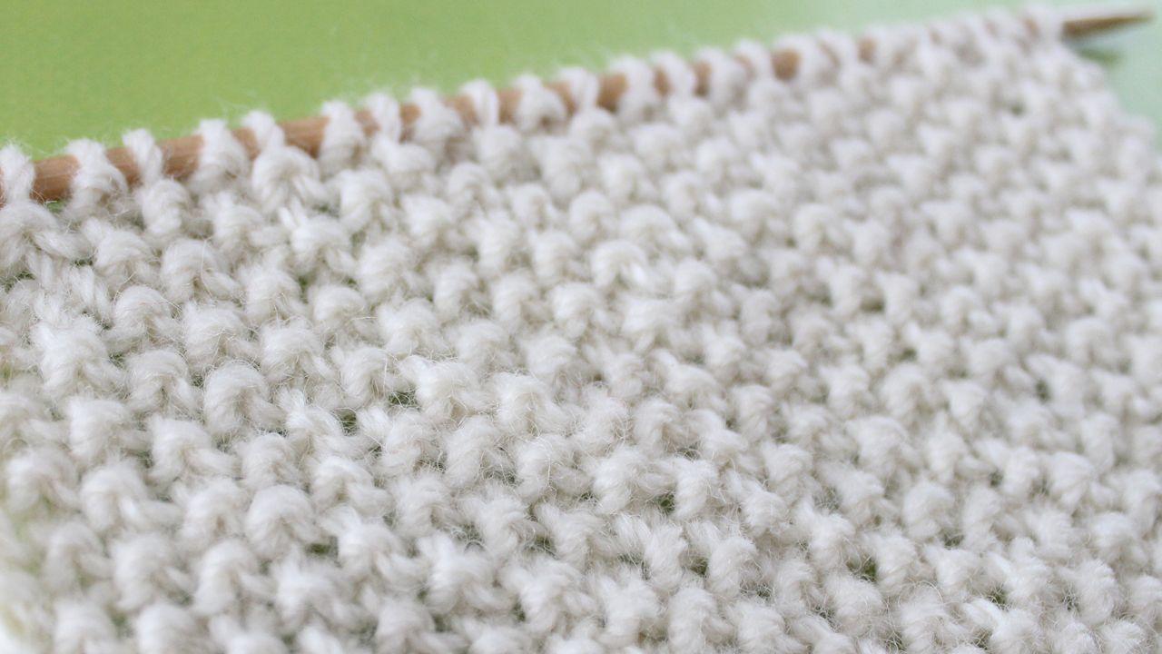 Knit and Purl Stitch Patterns