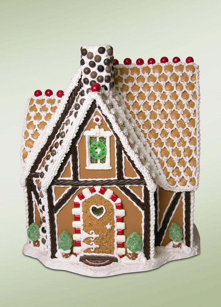 Byers Choice Rock Candy Chimney Christmas gingerbread