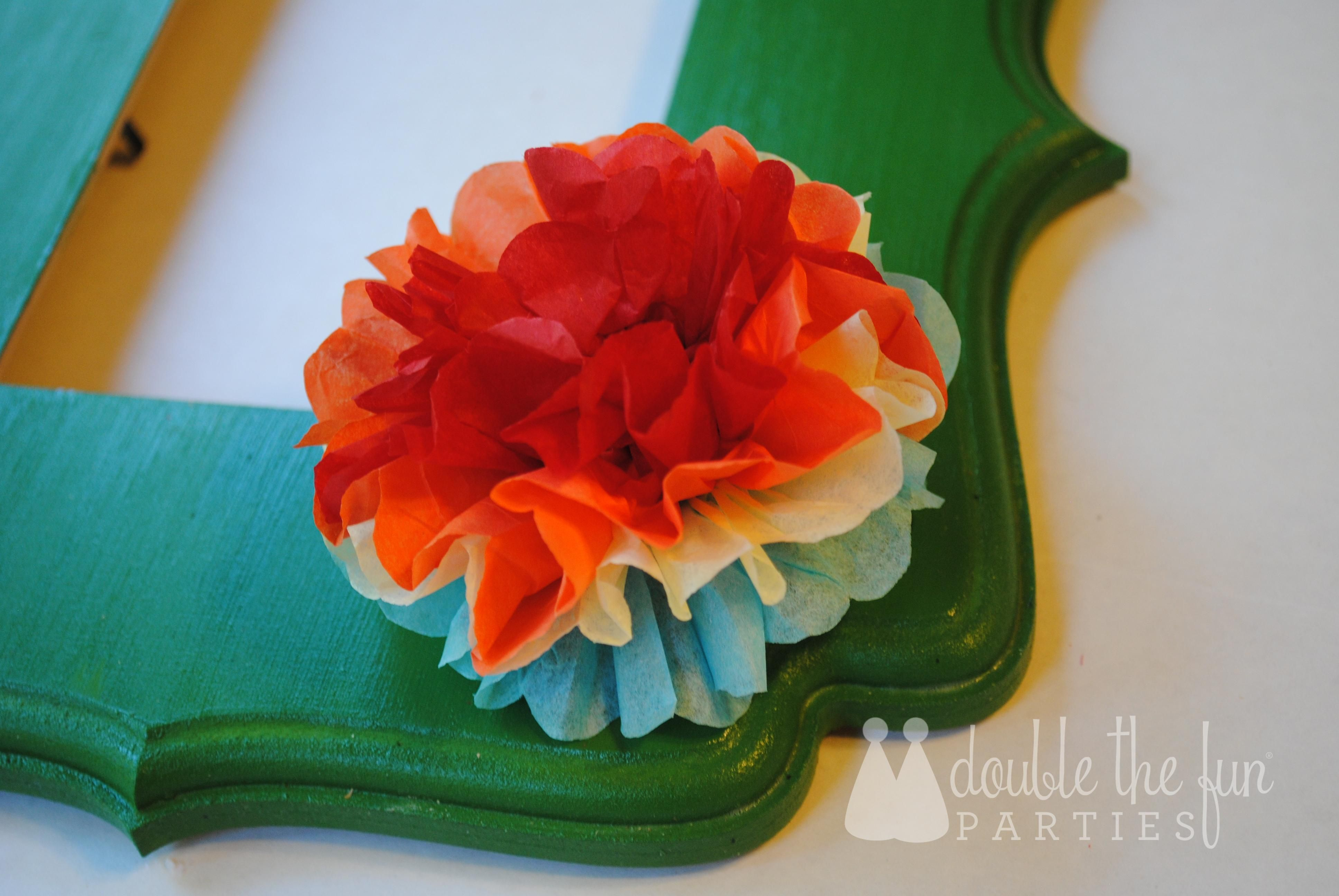 Tutorial Mexican Tissue Flowers Fit For A Fiesta Fiestas