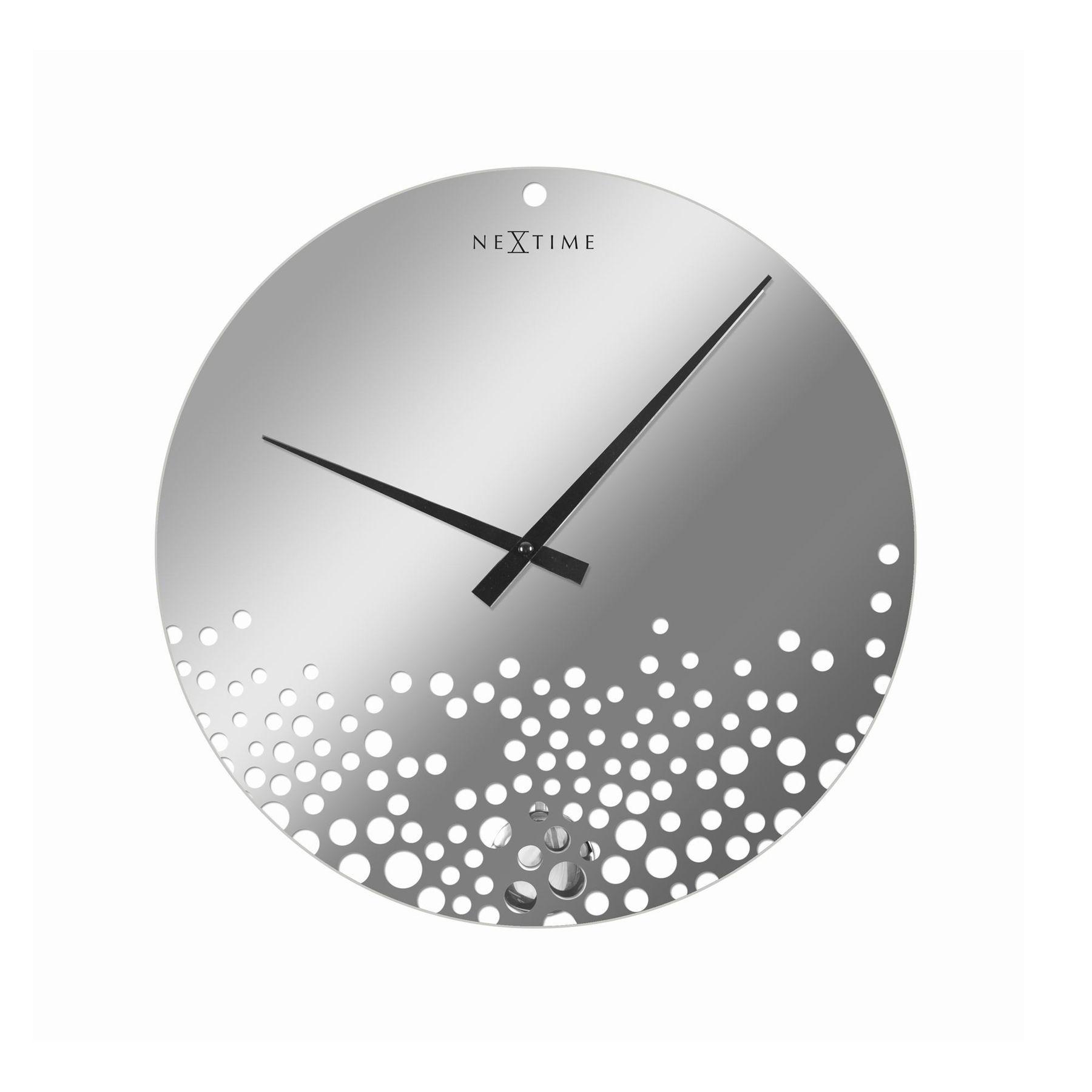 Silver & Suds Wall Clock | dotandbo.com