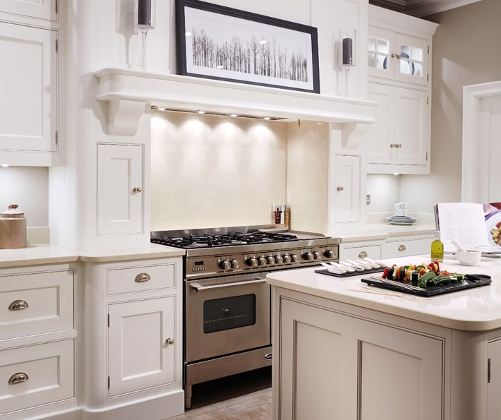 Bespoke Kitchen Design Painting cream painted designer kitchen  bespoke kitchens  tom howley