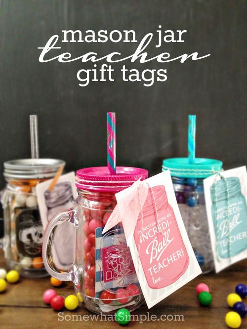 Teacher appreciation printables teacher gift tags teacher and jar mason jar teacher gift tags free printable love these just fill a jar attach one of these darling tags and youre good to go negle Gallery