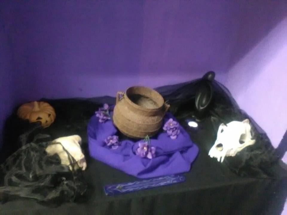 Mini-altar de Samhain Septiembre 2016