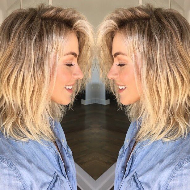 julianne hough 39 s stylist reveals the secret to her permanent beachy waves hair inspiration. Black Bedroom Furniture Sets. Home Design Ideas