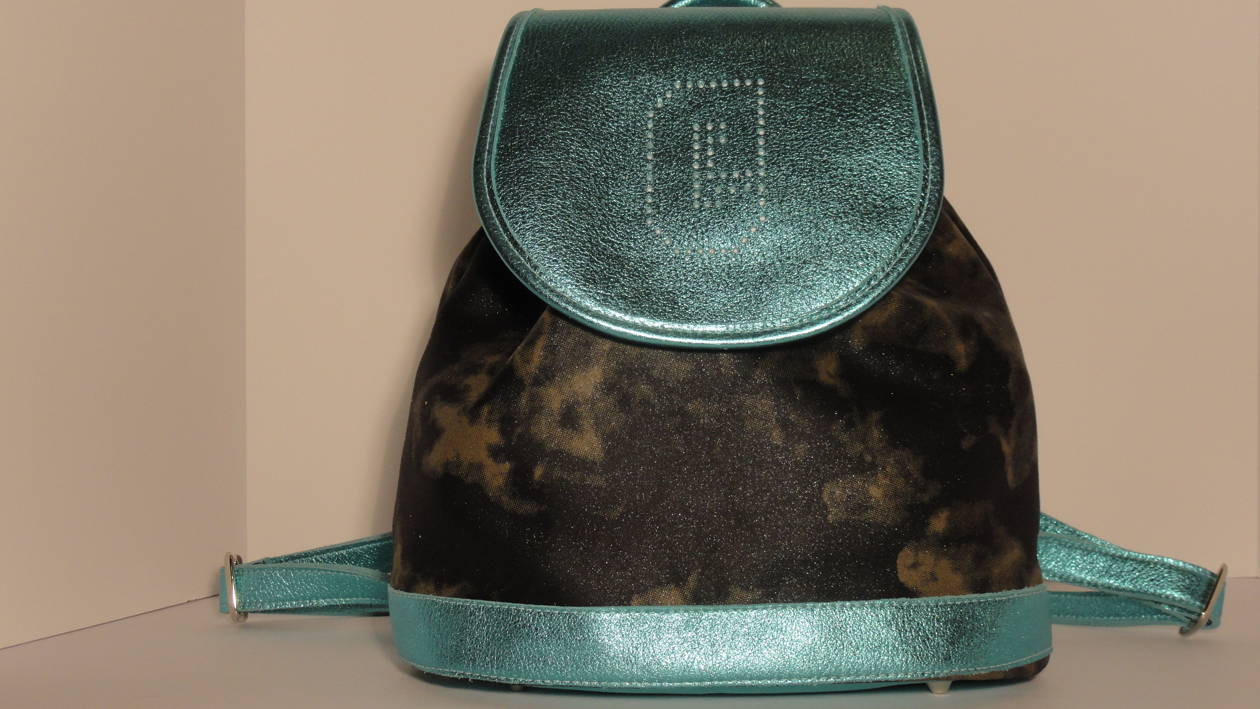 The Laine Survivor Backpack. To order you own Backpack go to:http://www.gwenmariecollection.com/shop-1/survivor-backpack