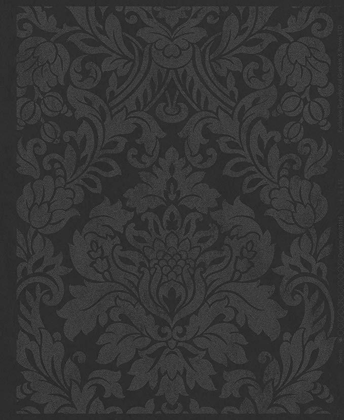 Graham & Brown 33331 Gloriana Black Wallpaper, Amazon