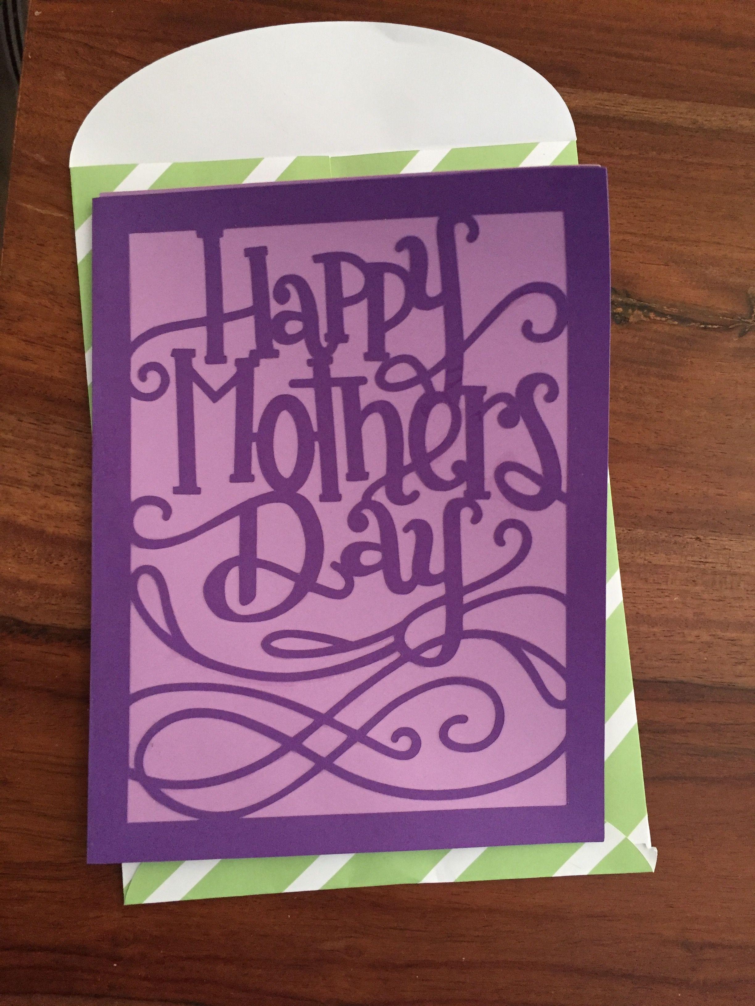 Cheerful 2nd Graders Cricut Day Card Cricut Day Card Card Ideas Pinterest Card Ideas Mor S Day Card Ideas Preschoolers Mor S Day Card Ideas