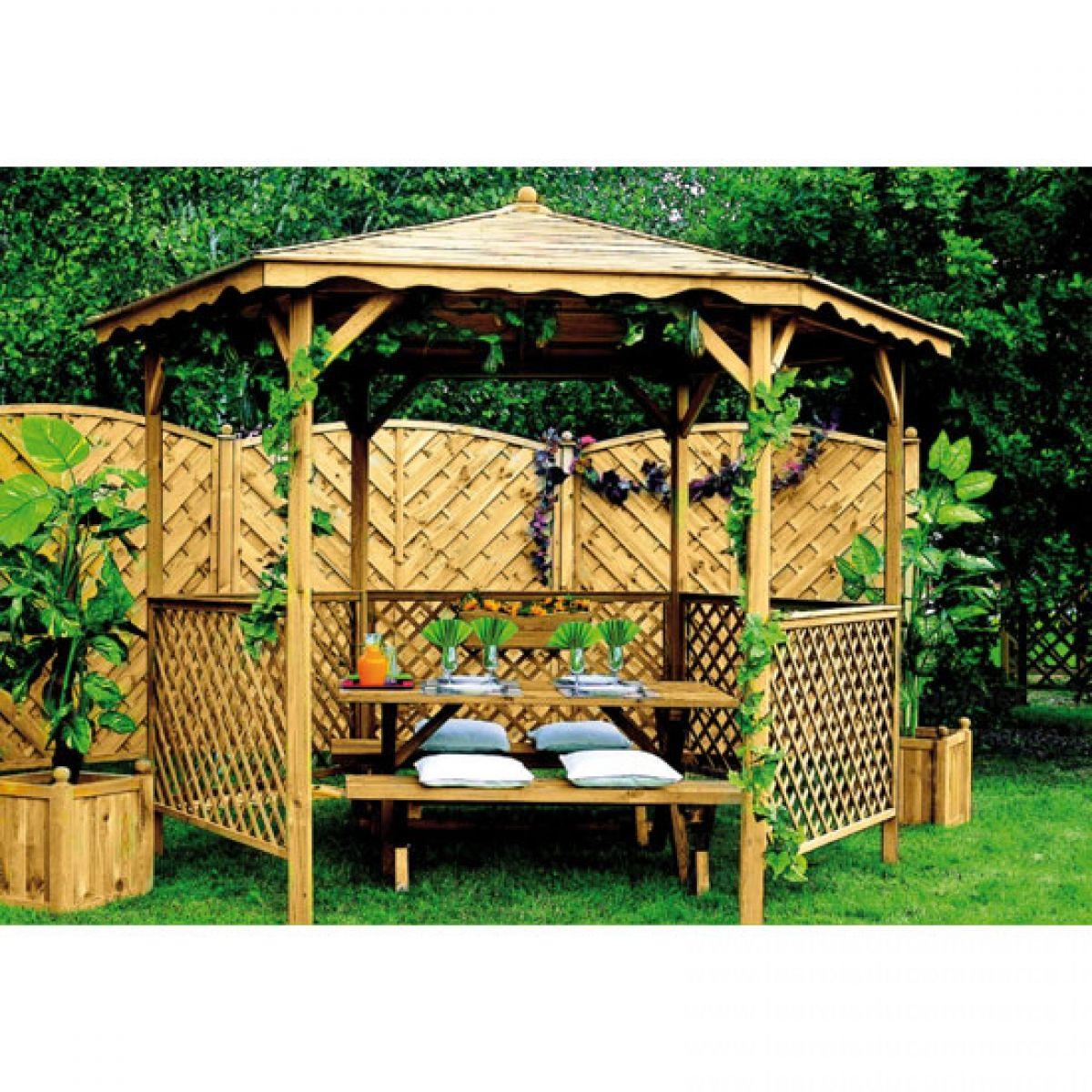 Kiosque de jardin   Abris de jardin - Carport - Garage   Pinterest ...