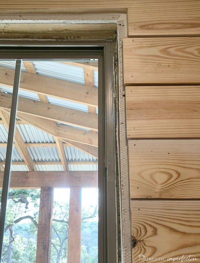 Simple Farmhouse Window Trim Farmhouse window trim