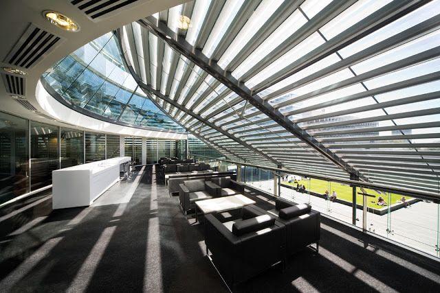 University Complex Modern Architecture Skylight Design Architecture