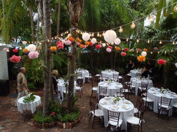 Amy John Had Their Key West Reception With Us With Their 50 Guests
