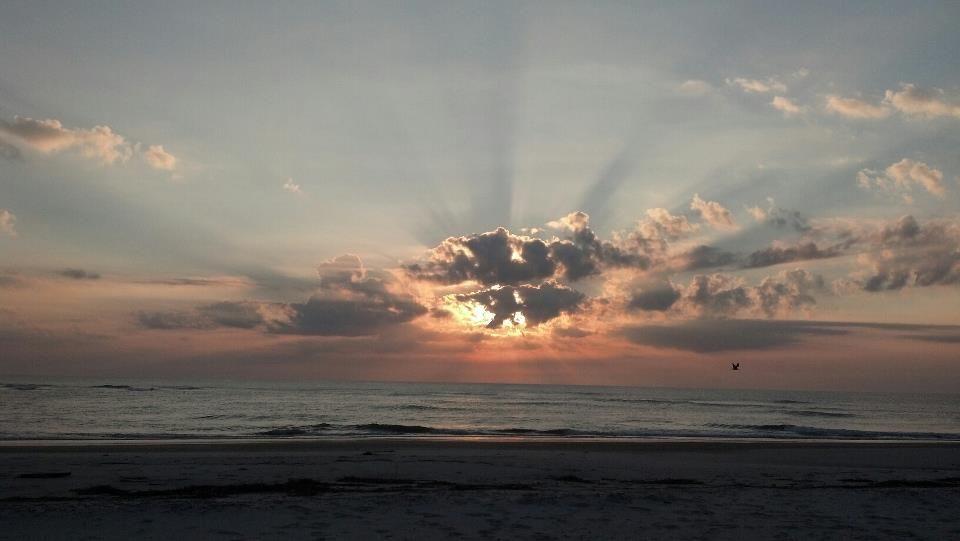 Sunrise of the Coast of Pawley's Island, SC