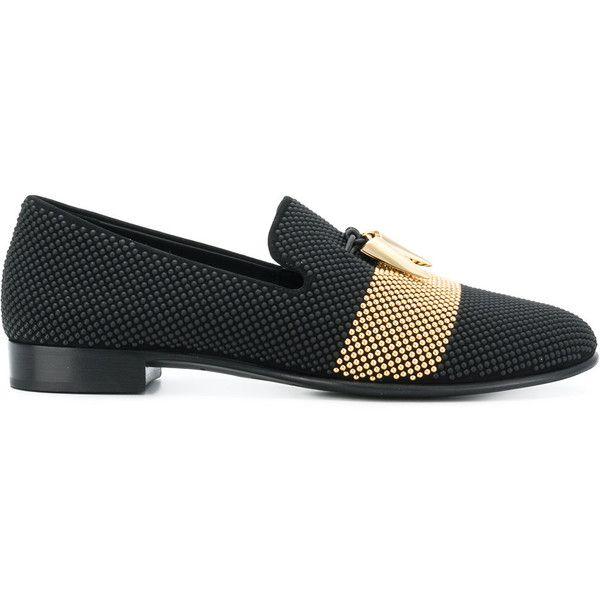Giuseppe Zanotti Design Men's Leather Loafers Shoes