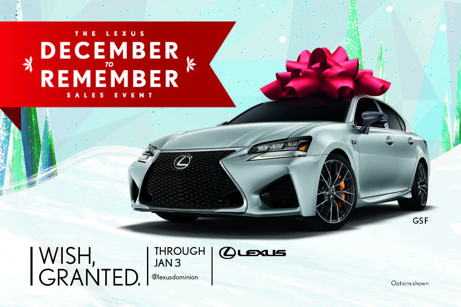 December to Remember time at North Park Lexus Dominion