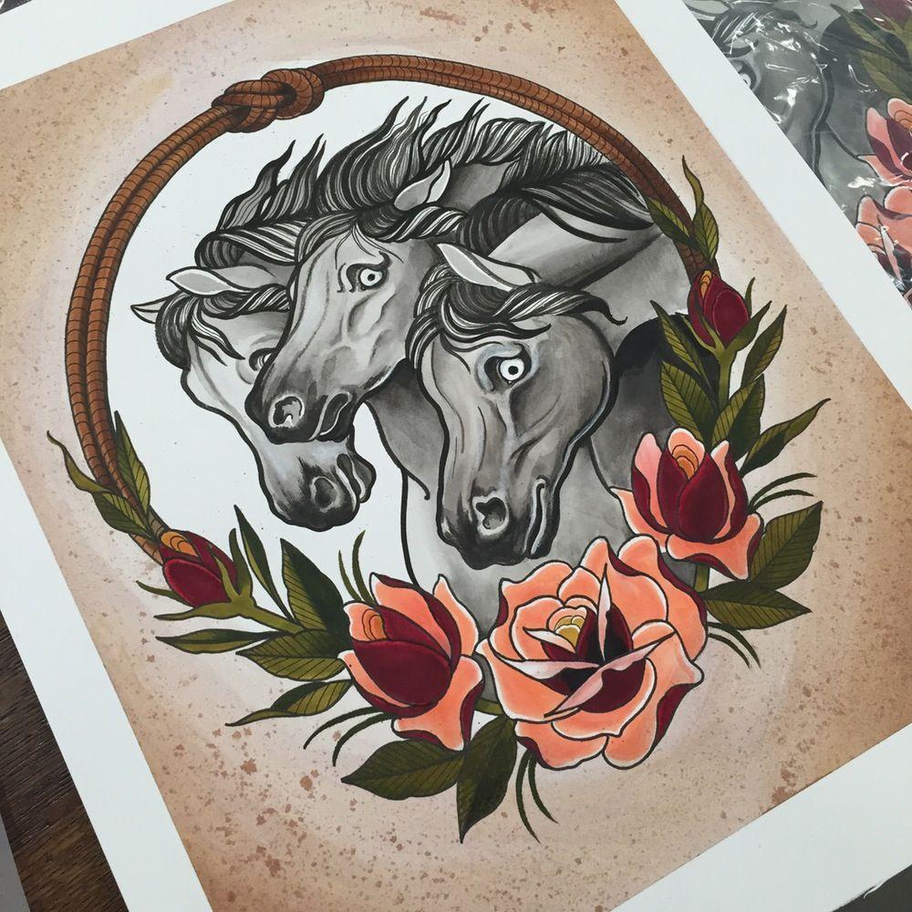 Image of Pharaoh's Horses (limited)