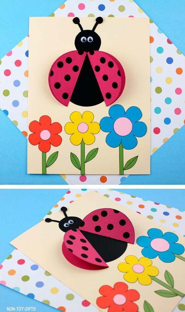 3D Ladybug Craft For Preschoolers And Older Kids