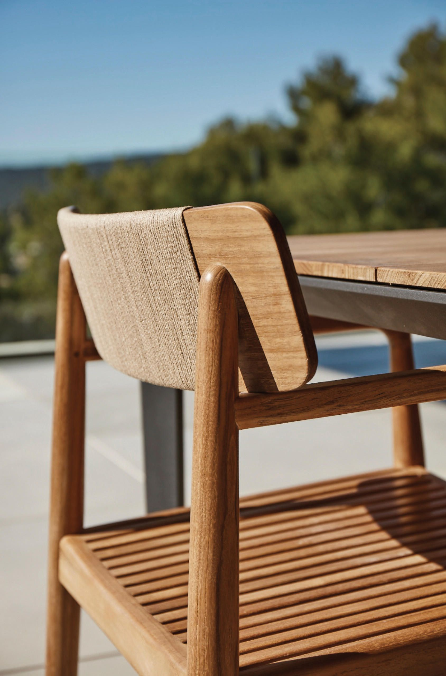 Archi Lounge Chair With Ottoman Armchairs From Gloster Furniture