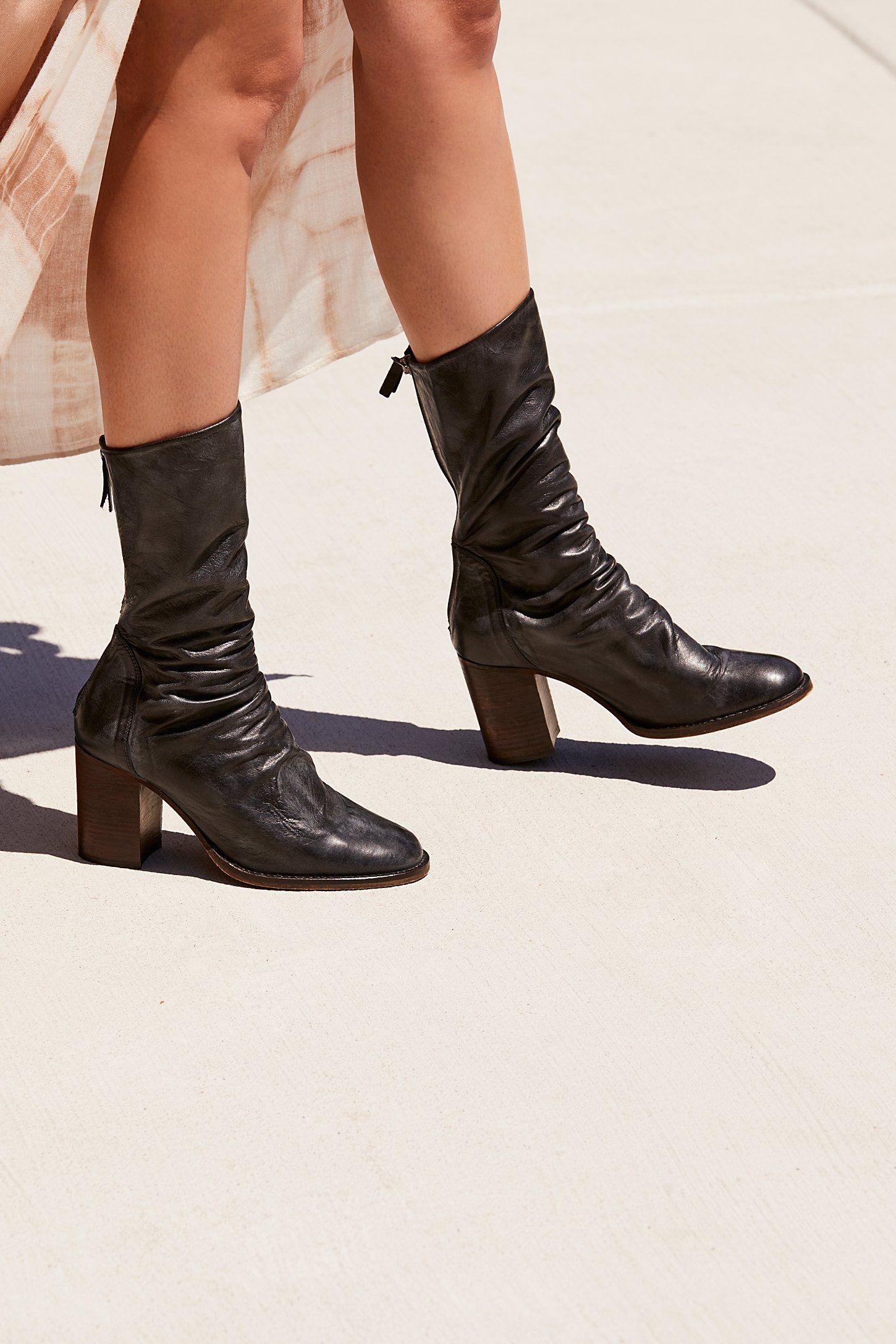 f1e435e4d59c Elle Block Heel Boot