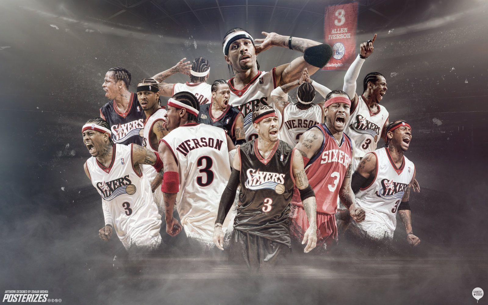 A I 180coaching Org Allen Iverson Nba Wallpapers Basketball Star