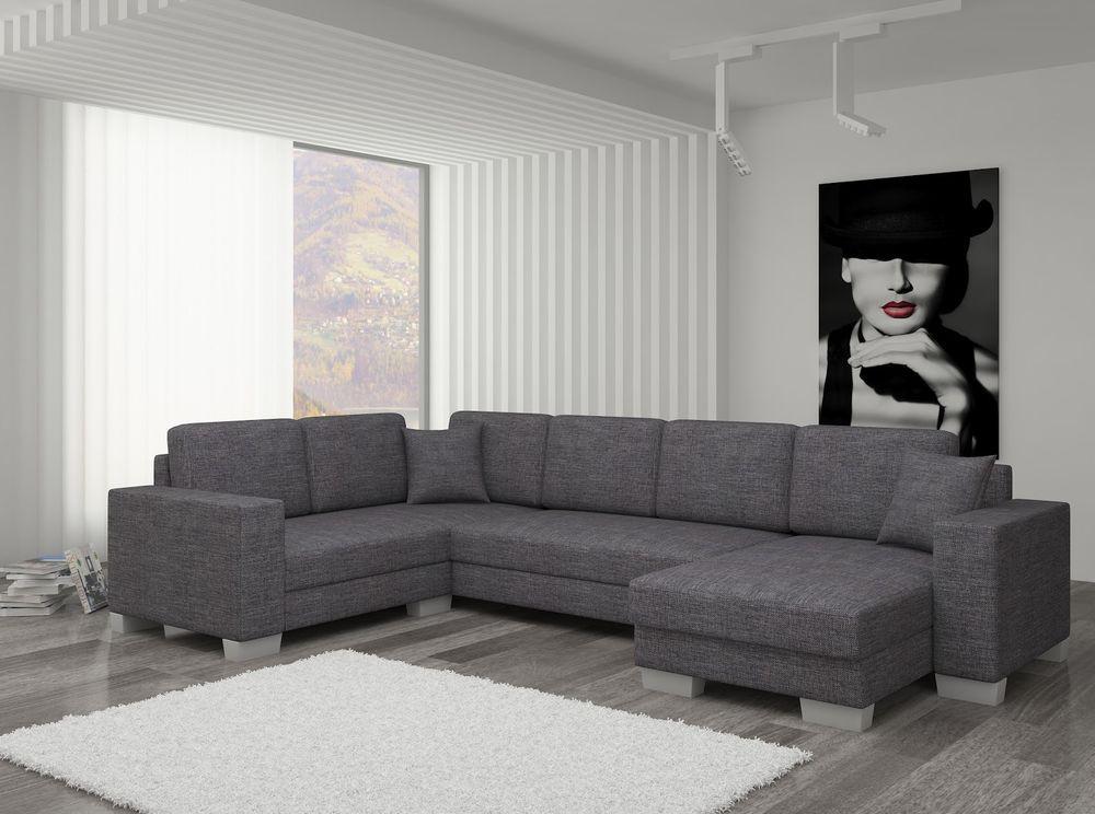 Details zu Couch Couchgarnitur Sofa Polsterecke MC 11 U ...
