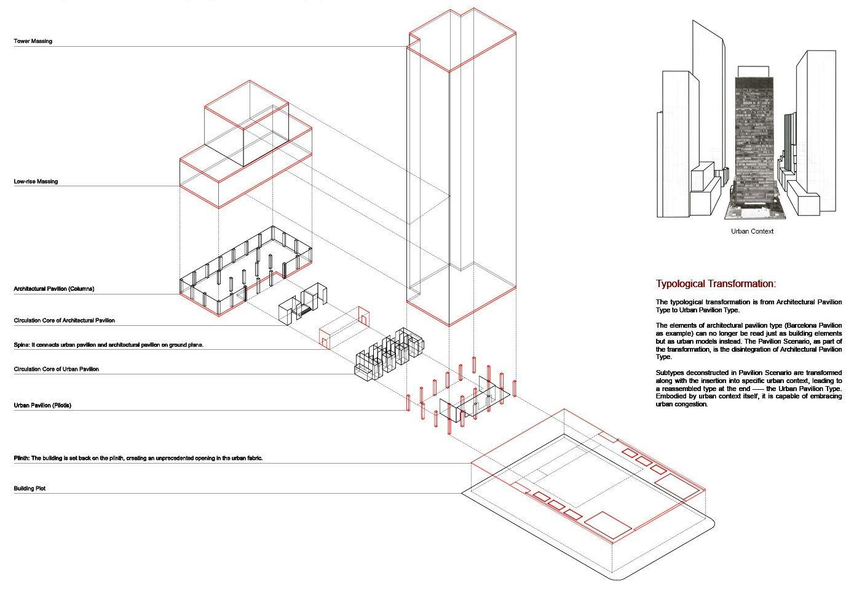 Seagram Building Plan Elements Seagram Building