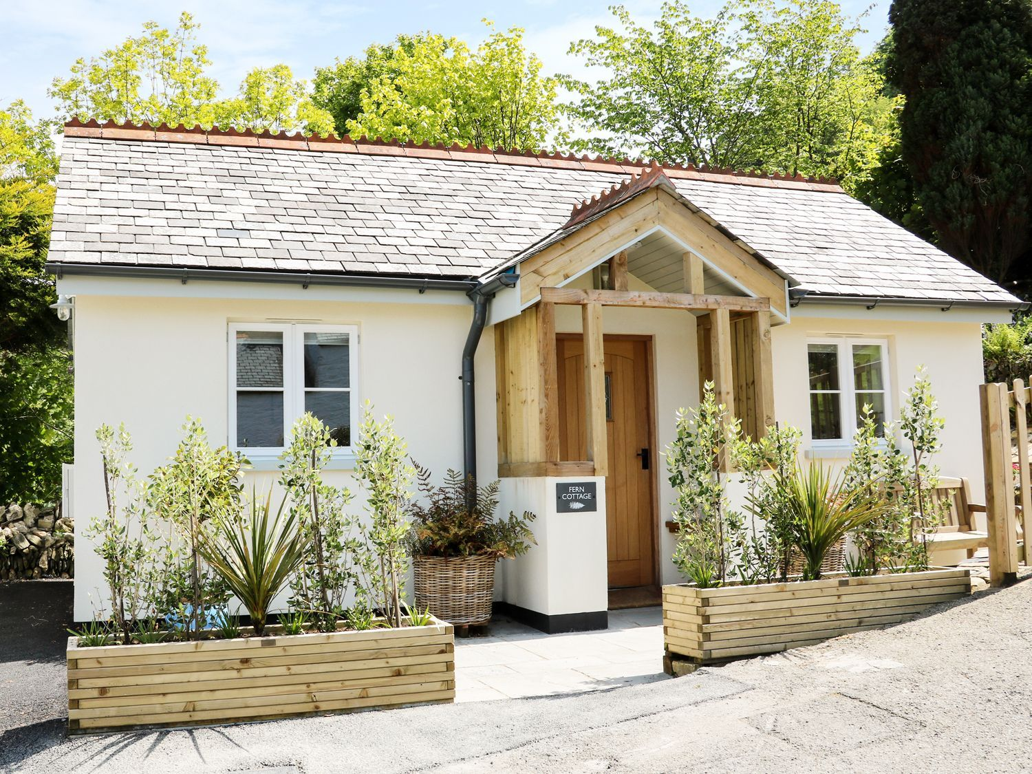 Superb A Detached Bungalow In Lynton North Devon That Can Sleep Home Interior And Landscaping Oversignezvosmurscom