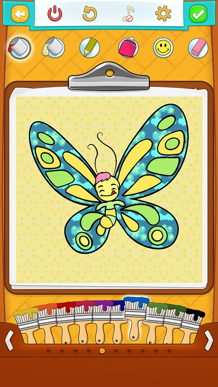 Free coloring pages app - Butterfly Coloring Pages Is Free And Available On App Store So Many Drawings For So