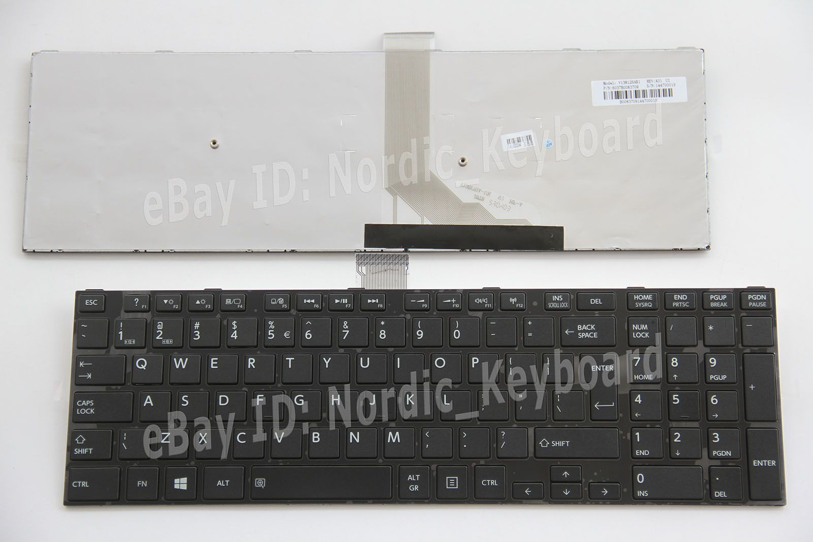 NEW FOR Toshiba Satellite S55 S55D S55t S55-A S55t-A S55D-A Keyboard US Backlit