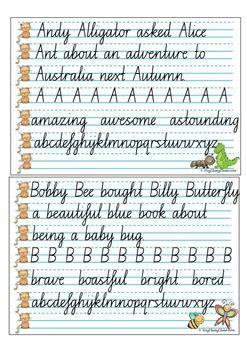 22+ Year 4 handwriting worksheets nsw Popular