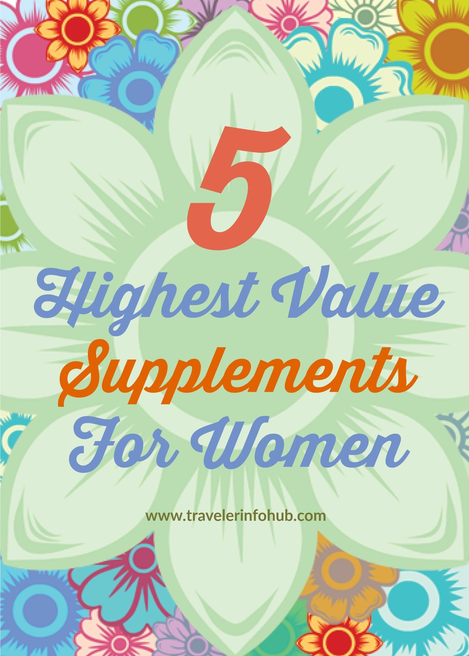 Vitamins for women sexual health