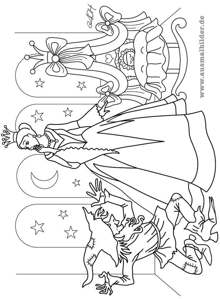rumpelstilzchen.jpg (706×961) | coloring 4 | Pinterest | Märchen ...