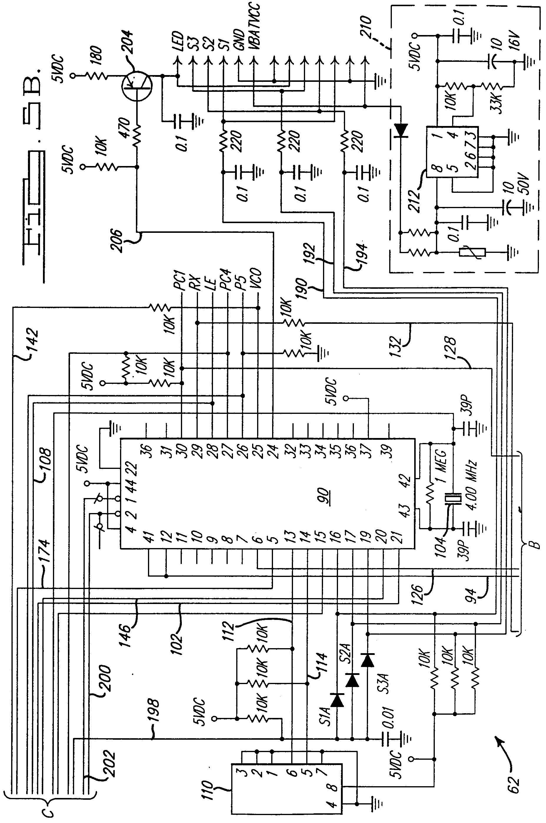 garage door opener circuit board schematic wiring diagram auto genie garage door opener circuit board schematic [ 1856 x 2796 Pixel ]
