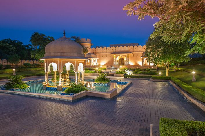 Hotel The Oberoi Rajvilas Jaipur Jaipur Trivago Com Au Vacances