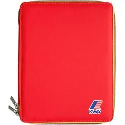 Photo of K-way Herren Ipad Tasche, Nylon wasserabweisend, leuchtrot K-way