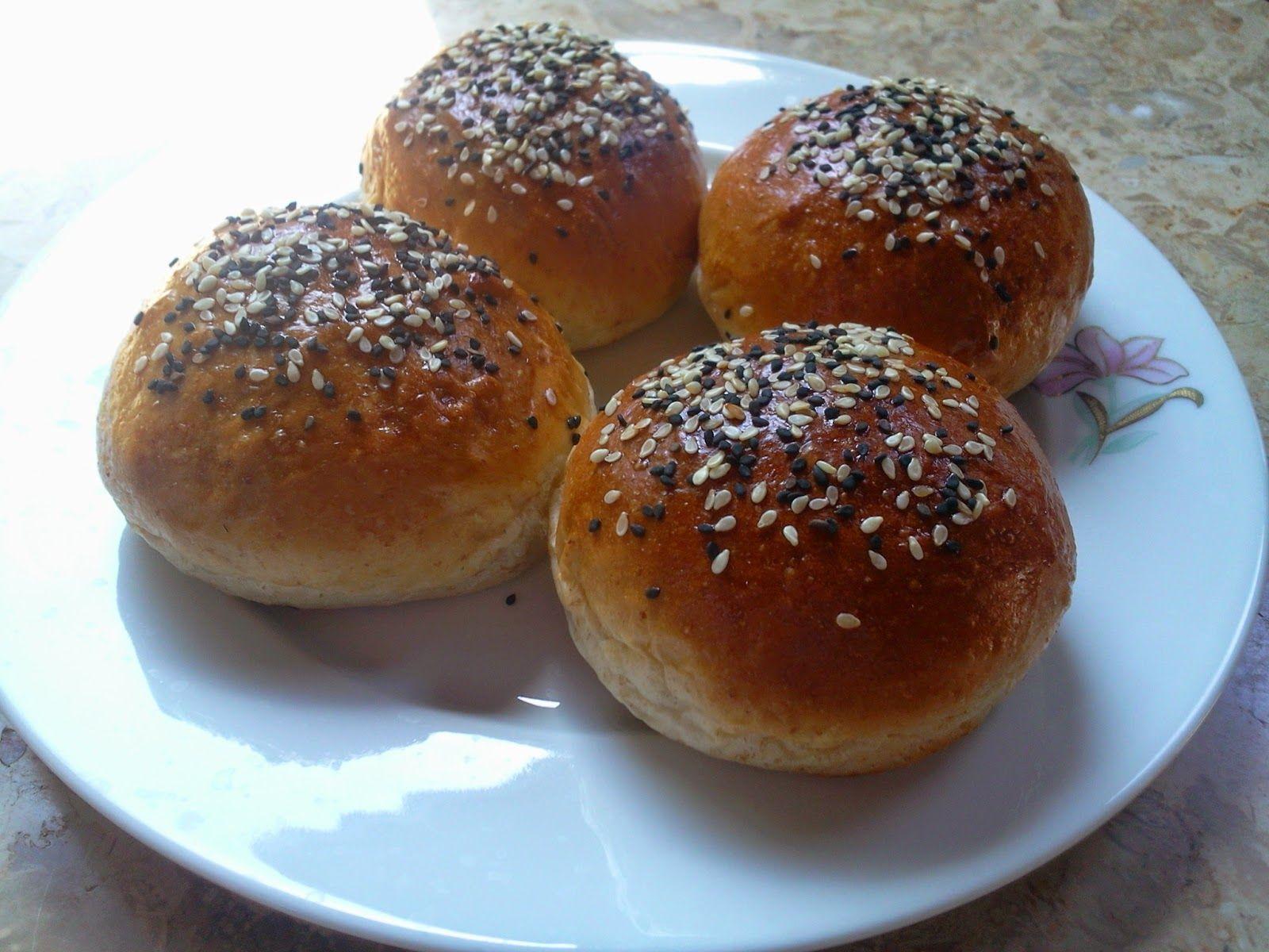 sourdough Tang Zhong hamburger buns