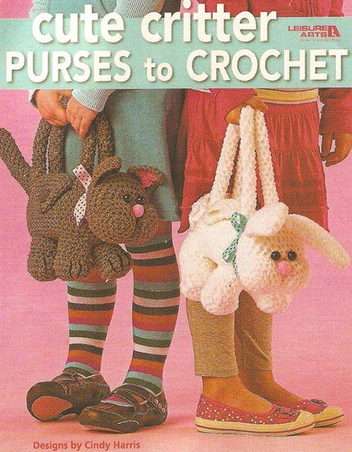 patrones asgaya: BOLSOS DE ANIMALES A CROCHET   Bolsos en crochet ...