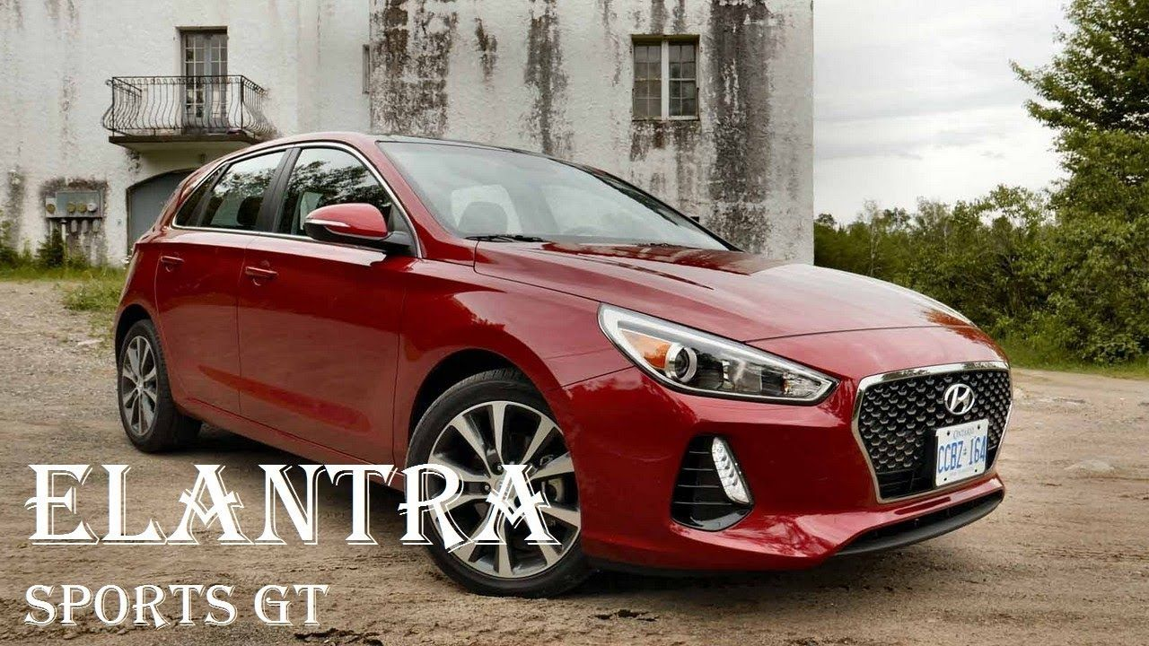 2018 HYUNDAI Elantra GT Sport Hatchback Review Engine