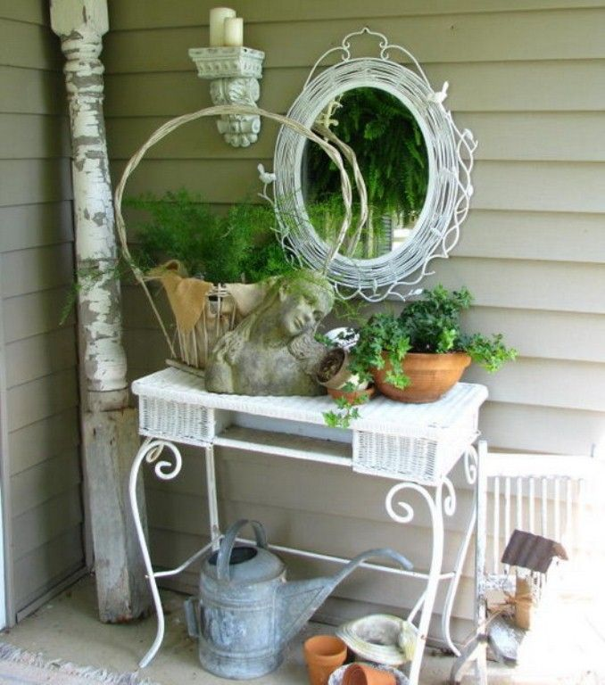 decorating ideas for old victorians   Shabby Chic Terrace Design ...