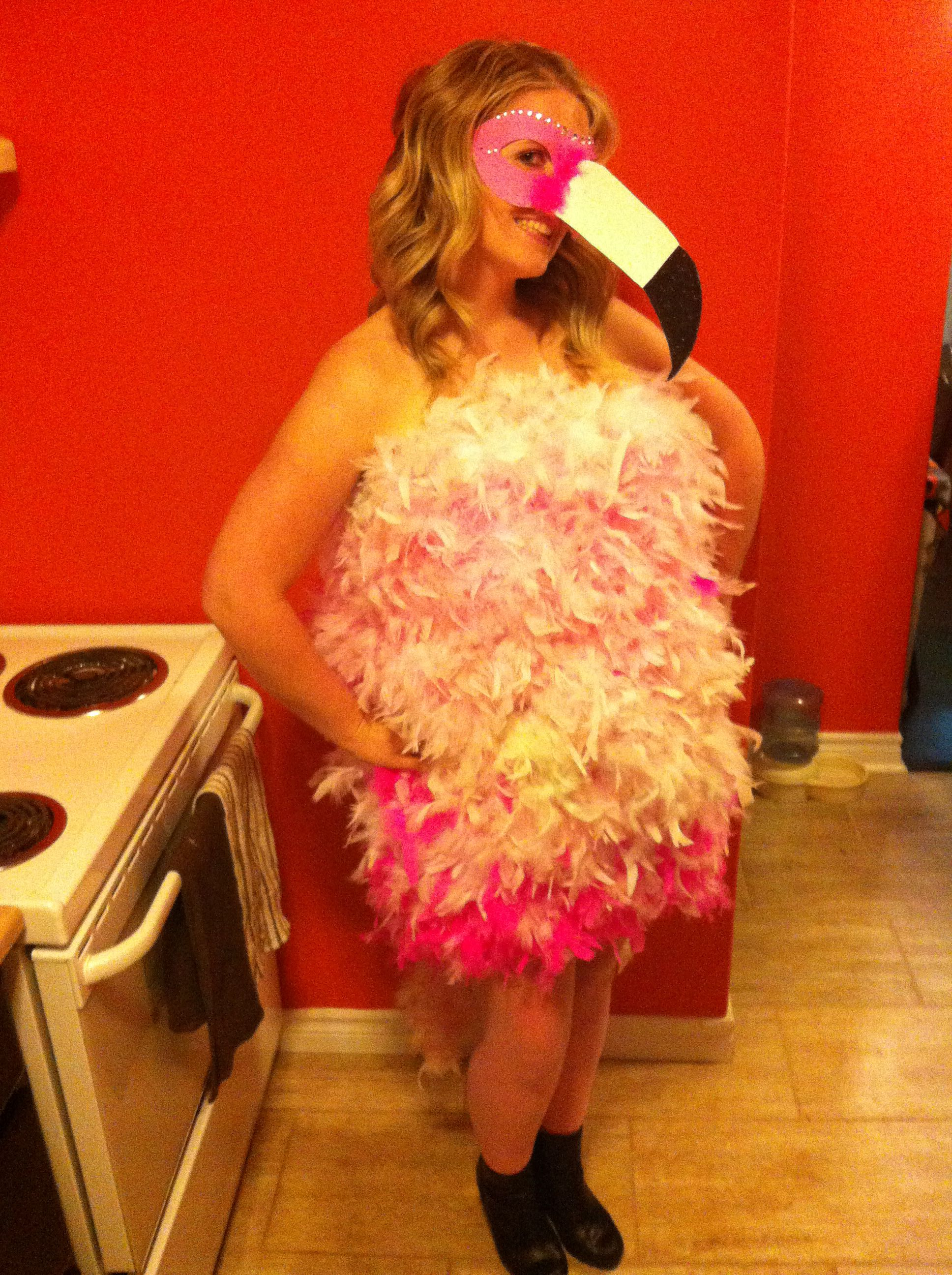 Flamingo Costume Diy Step1 Buy Find Cheap Stretchy