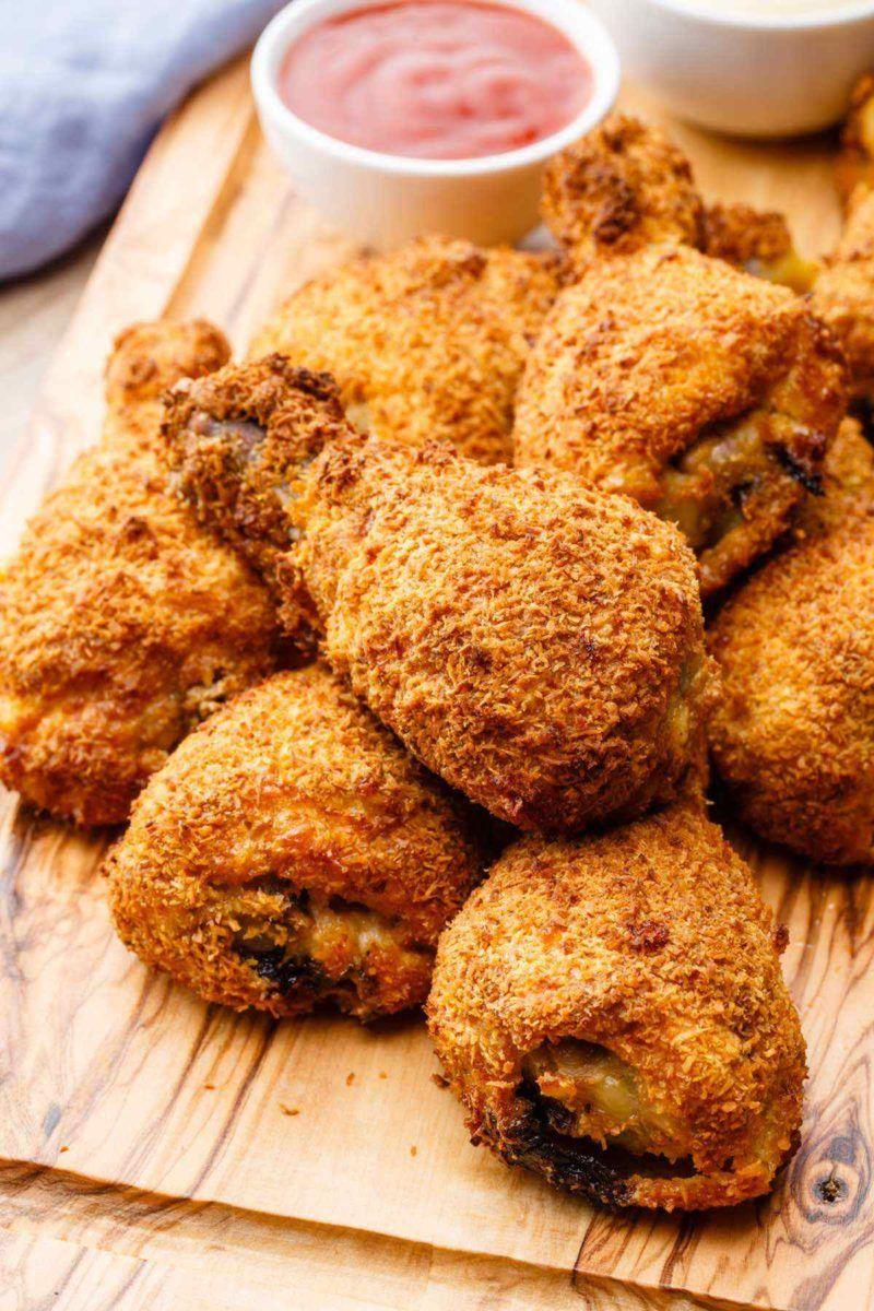 Air Fryer Crispy Chicken (The Best GuiltFree Fried