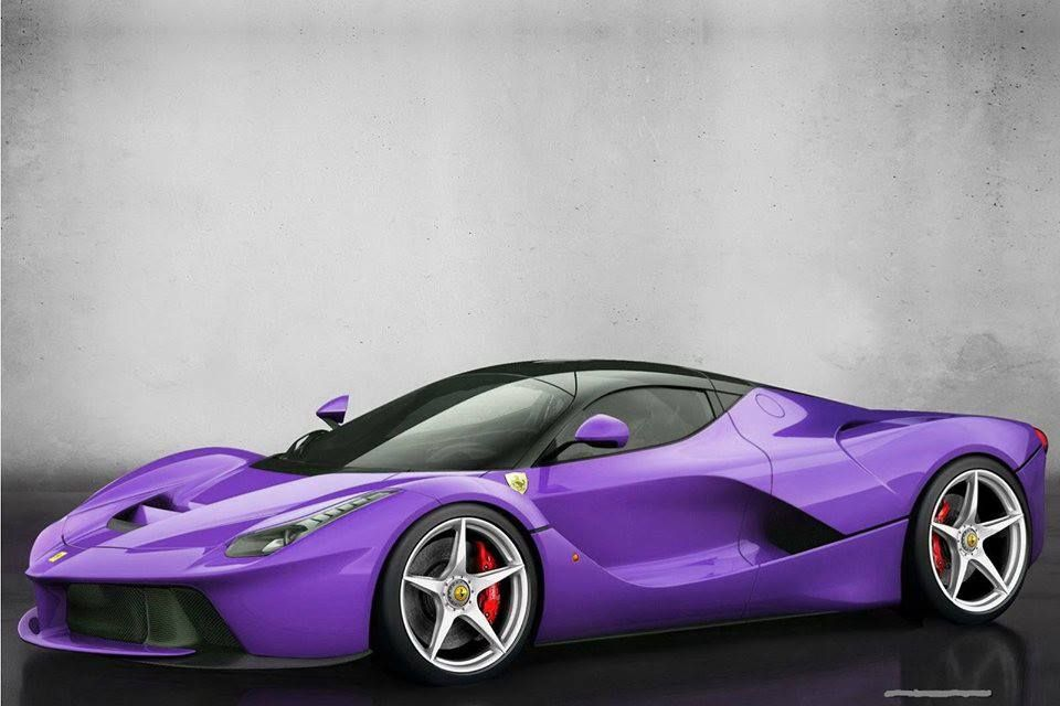 Lacolors Who Said The New Laferrari Has To Be In Red Only Carscoops Ferrari Laferrari La Ferrari Fast Sports Cars