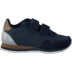 Photo of Woden Sneakers low Nor Suede Blue Boys Woden